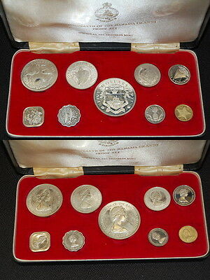 Bahama coin Proof Set, 1971  PP, Franklin Mint