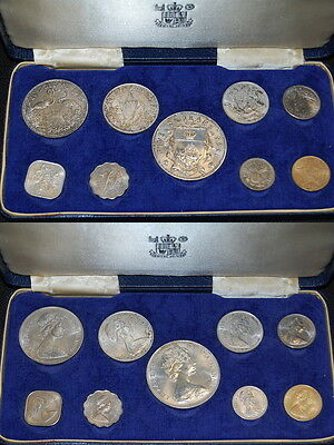 Bahama coin Proof Set, 1966  PP, Franklin Mint