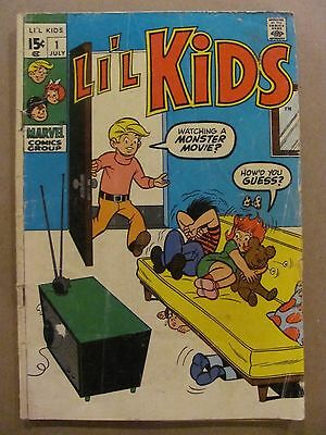 Li'l Kids #1 #2 Marvel Comics 1970 Series