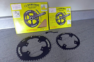 Osymetric Q Rings Oval Chainrings Shimano Ultegra Dura Ace 9000 - 110 52 / 42 TT