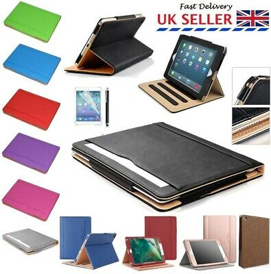 Luxury Magnetic Leather  Stand Flip Case Cover For iPad 2 3 4 2017 2018 Air 3 2