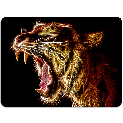 Mousepad EasyGrip Non Slip Mouse Pad Fire Tiger Y00236