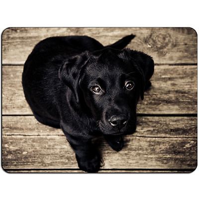 Mousepad EasyGrip Non Slip Mouse Pad Black Puppy Y00631
