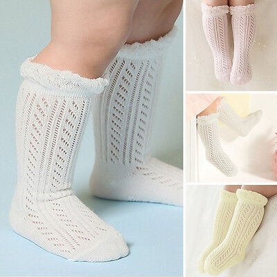 Baby Girl Socks Newborn Summer Infant Baby Knee High Stockings Tights Leg Warmer