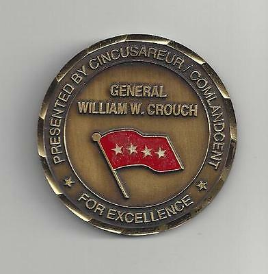 Commanders Challenge Coin, 4 Sterne General