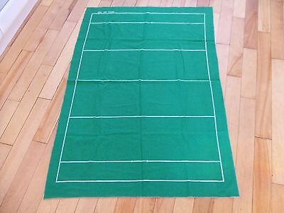 Subbuteo RUGBY Felt Pitch - Hardly Used Top Quality
