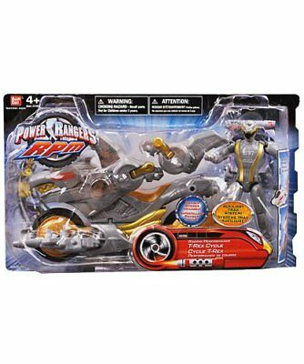 "Power Ranger RPM Racing Performance Cycle with 5"" Figure Auxiliary Trax: Racing"