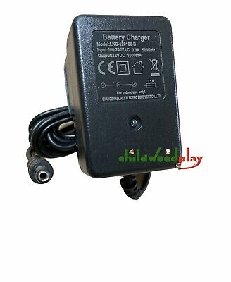 New 12V Universal Spare  Battery Charger For Electric Toy Ride On Cars & Jeeps
