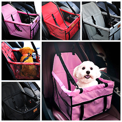 Foldable Pet car seat Travel Cushion Double Waterproof Breathable Safety Booste