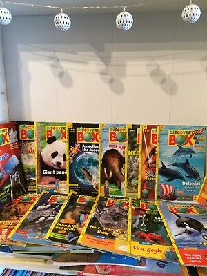 16 X Discovery Box Children's  Magazines. Bundle of 16 Issues