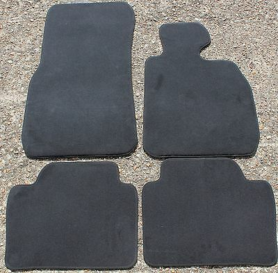 GENUINE BMW 3 SERIES F30 F31 F80 VELOUR FLOOR MATS MAT SET 2012-2017 NEW ref 377