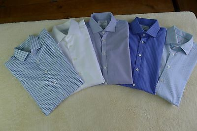 Charles Tyrwhitt bundle of 5 long sleeve shirts size 17in