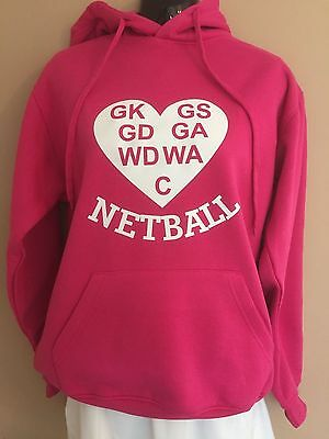 Nutz About Netball - Love Netball Netball Hoodie