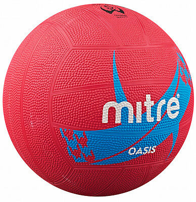 Mitre Oasis Netball Size 5 - Pink or Orange