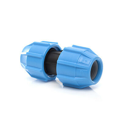 MDPE Compression straight coupler