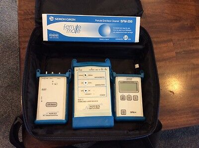 Noyes Sm / Mm Test Kit / Otdr / Fusion Splicer Technicians Tool
