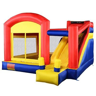 Inflatable Bounce House Super Slide Castle Moonwalk Jumper Bouncer New
