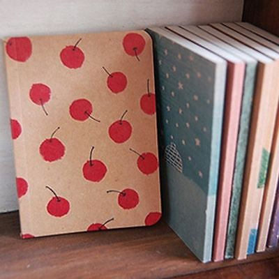 Cute BIG Notebook Blank Page Painting Paper Book Journal Diary Notepad Memo Pad