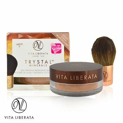 Vita Liberata Luxury Tan Trystal Minerals Self-Tanning Bronzing PICK YOUR SHADE