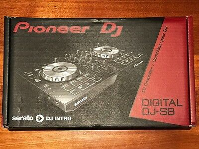 Pioneer DJ DDJ-SB with cable - Like New