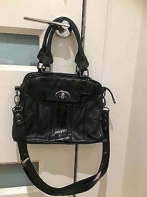 Black Colour  MIMCO Leather Hand Bag