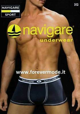 3 Boxer man Navigare stretch cotton, bands and elastic logged art 312