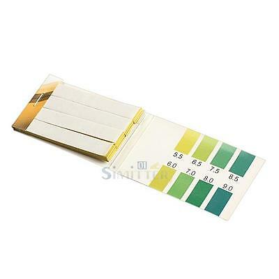80 Strips 5.5~9.0 pH Litmus Alkaline Test Indicator Paper PH Test Papers for Lab