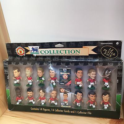 Rare 14 Corinthian Collection 1995 Man united Team Manchester Box Set complete