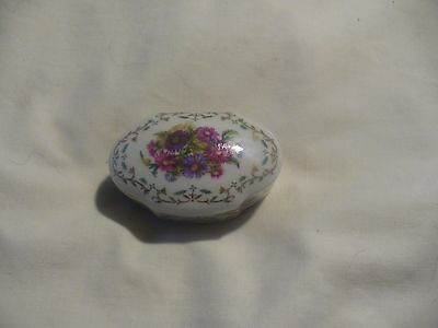 Daughters Of The American Revolution ~ Fine Limoges Porcelain Trinket Box