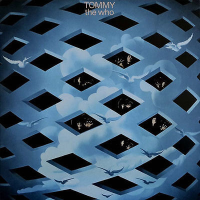 THE WHO ~ TOMMY ~ 2 x 180gsm VINYL LP ~ TRI-FOLD SLEEVE ~ *NEW AND SEALED*