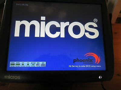Micros 5A Point Of Sale POS Workstation Terminal Workstation 400814-101