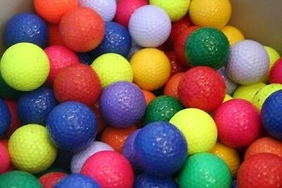 100 AAA Color Mix Assorted Brand Used Golf Balls