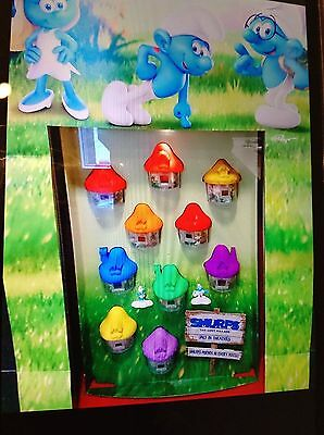 2017 Smurfs Mcdonalds  Toys Complete Set Of 10 Pcs. ( One Set Only ) ----- New
