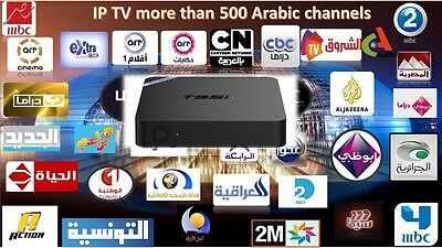 Lifetime free Arabic IPTV Box More than 400 Channels