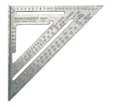 Swanson 25cm Metric Speed Rafter Angle Square NA202