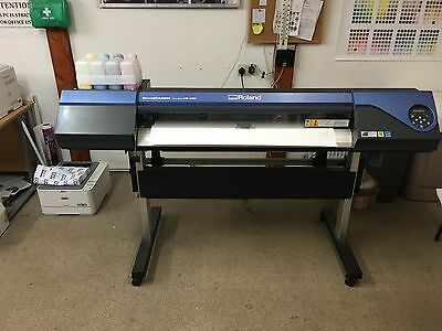 Roland Eco Solvent Printer & Cutter VS-420 Mimaki Mutoh Large Format