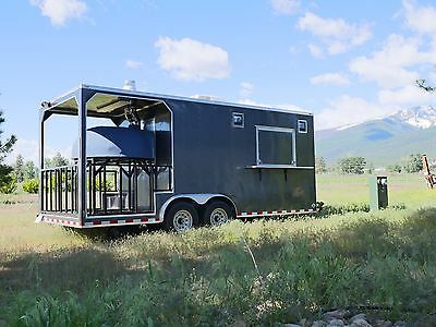 Brand New Wood Fired Pizza Trailer - Mobile Food Truck - Catering Truck