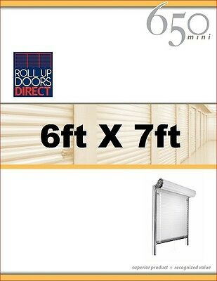 Roll Up Doors Direct Janus Model 650 6ft W x 7ft H