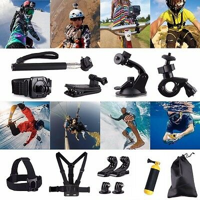 Amazing 20 in 1 Sports Action Camera  Accessories Set for GoPro 4 3+ 3 2 1