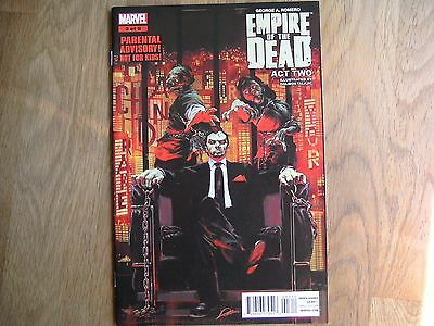 MARVEL Empire Of The Dead Act Two graphic comic issue #3 /5 Jan 2015 NEW! Romero