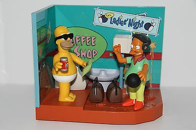 Playmates The Simpsons Apu Bowling Alley and Casual Homer Sets