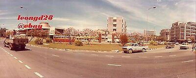 Original vintage wide angle view in (Jesselton)k.k. Sabah,Malaysia.