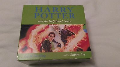 Harry Potter And The Half Blood Prince 20 CD's Audio Book Unabridged Stephen Fry