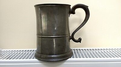Pewter Tankard by Scott of Edinburgh 1843 Stamp