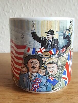 Vintage mug To commemorate the 50th anniversaryof V. E. Day - 1945