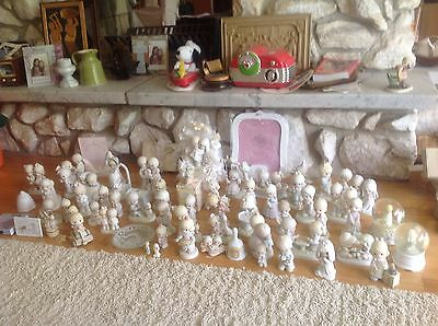 Lot of 66 Precious moments figurines