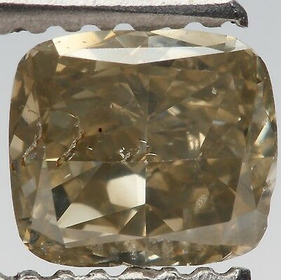 1.00ct Cushion Cut Green Rare Loose Diamond
