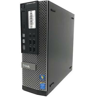 Dell Optiplex 9020 SFF Mini PC Quad Core i5-4570 4x 3,2GHz 8GB RAM 240GB SSD W10