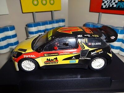 Custom Made SCX Scalextric Petter Solberg 2014 Citroen DS3 Rallycross Slot Car