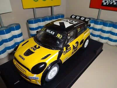 Custom Made Scalextric Rare Guy Wilks Mini WRC JRM Racing Rallycross Slot Car